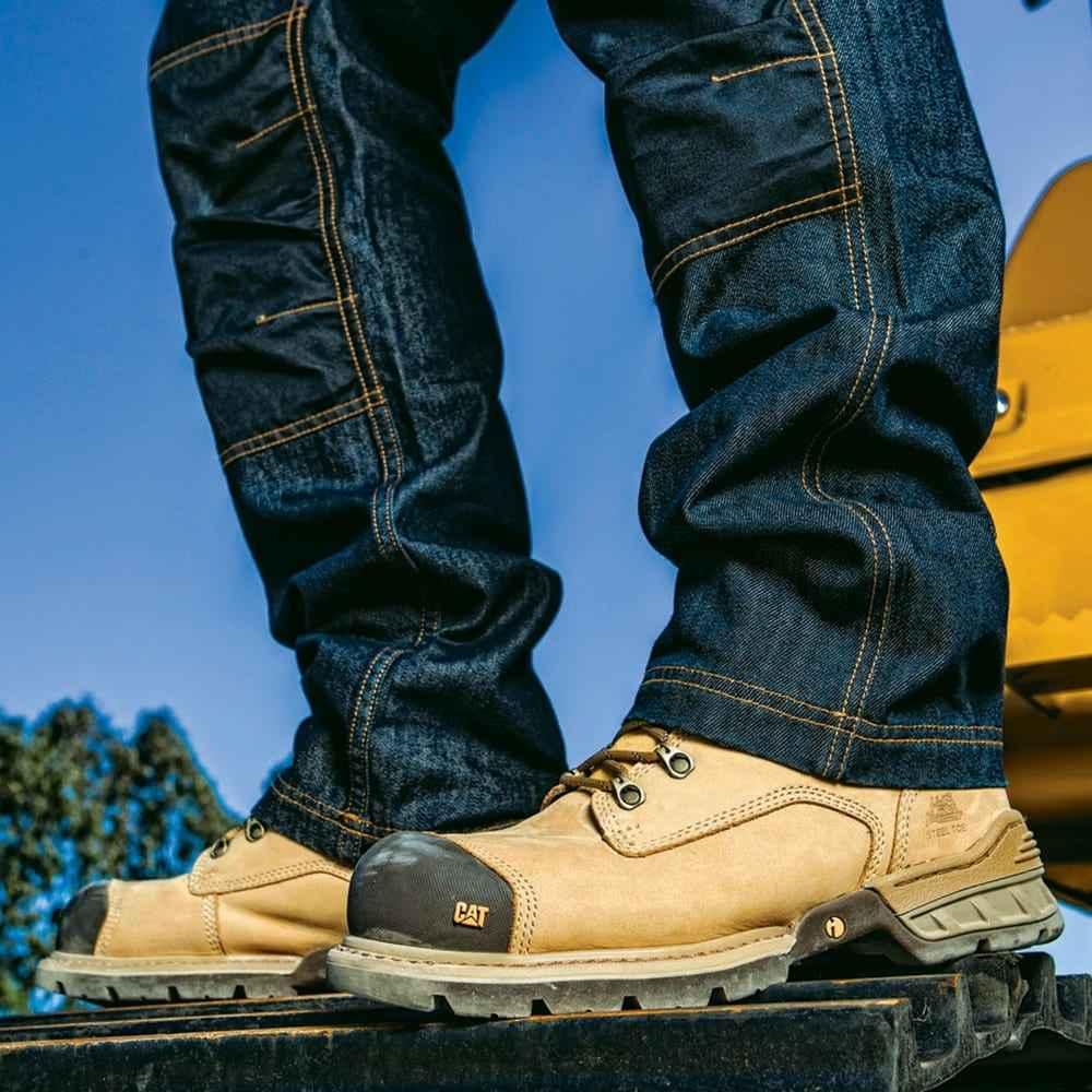 dfa7bd529e6 Παπούτσια Μποτάκια Ασφαλείας – Εργασίας Καφέ Μελί Caterpillar Spiro S3-HRO -SRC