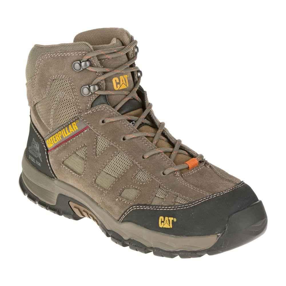 20a2165bb8d Παπούτσια Μποτάκια Ασφαλείας – Εργασίας Καφέ Caterpillar Structure MID SB- HRO-SRA