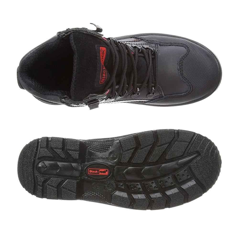 dac6a89a3e4 Παπούτσια Μποτάκια Ασφαλείας – Εργασίας Μαύρα Blackrock Panther Boot S3-SRC