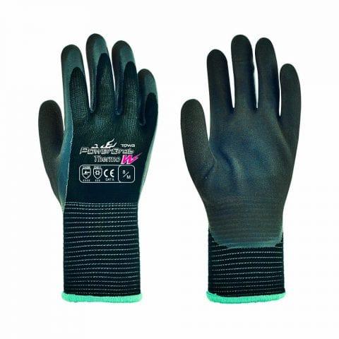 Γάντια Εργασίας Latex Υπερ-Ισοθερμικά Παλάμης – Αντίχειρα Υπερανθεκτικά στην Ολίσθηση TOWA PowerGrab Thermo W