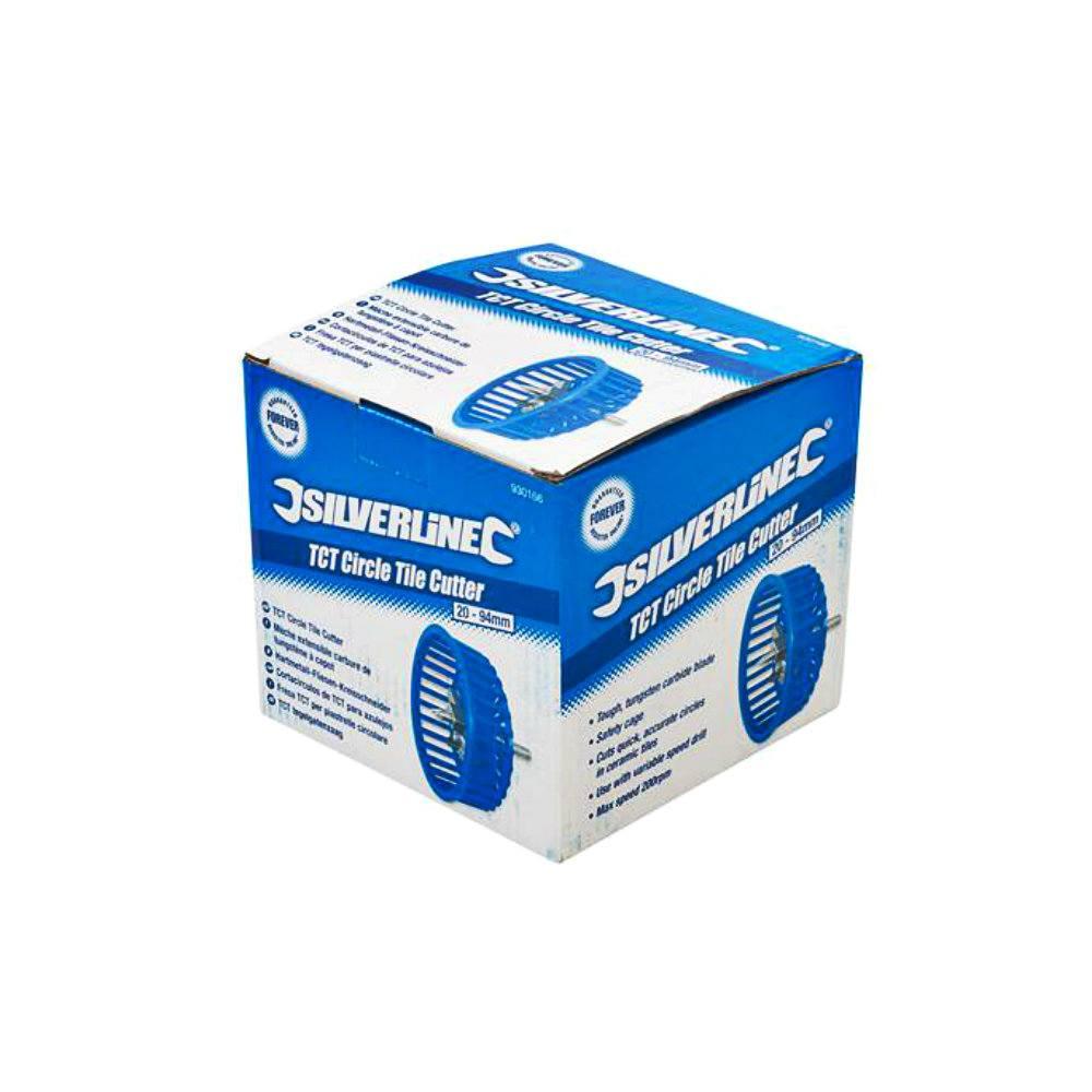 Τρυπάνι - Διαβήτης Πλακιδίων Ρυθμιζόμενος TCT Silverline 930166 20-94mm